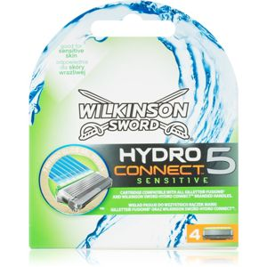 Wilkinson Sword Hydro Connect 5 tartalék pengék az érzékeny arcbőrre