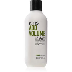 KMS California Add Volume Sampon finom, lesimuló hajra dús haj a gyökerektől 300 ml