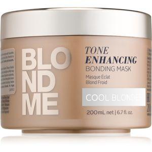 Schwarzkopf Professional Blondme tápláló hajmaszk a szőke hideg árnyalataiért
