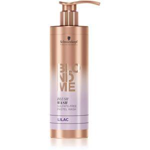 Schwarzkopf Professional Blondme tonizáló sampon szőke hajra Lilac 250 ml