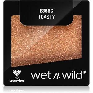 Wet N Wild Color Icon krémes szemhéjfestékek csillámporral árnyalat Toasty 1,4 g