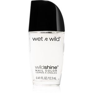 Wet N Wild Wild Shine fedő körömlakk matt hatással átlátszó 12,3 ml