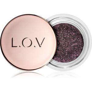 L.O.V. The Galaxy szemhéjfestékek és szemhéjtusok egyben árnyalat 530 Magenta Shimmer 6 g