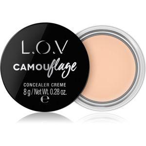 L.O.V. CAMOUflage krémes korrektor árnyalat 010 Alabaster 8 g