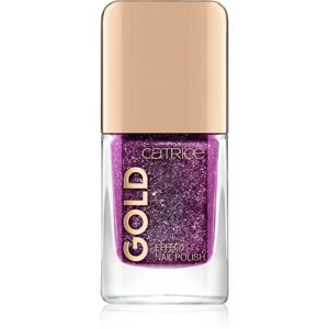 Catrice Gold Effect csillogó körömlakk árnyalat 07 Lustrous Seduction 10,5 ml