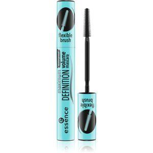 Essence Maximum Definition vízálló és tömegnövelő szempillaspirál árnyalat Black 8 ml