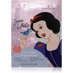 Essence Disney Princess Snow White arcmaszk hidratáló hatással 2 x 10 ml