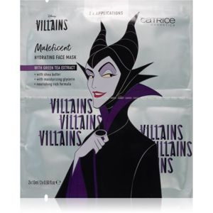 Catrice Disney Villains Maleficent arcmaszk zöld tea kivonattal 2 x 15 ml