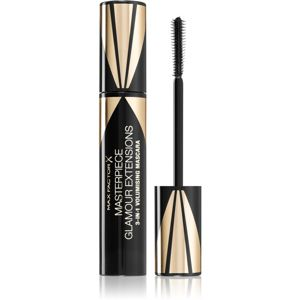 Max Factor Masterpiece Glamour Extensions vizálló szempillaspirál a hosszabb pillákért árnyalat Black 12 ml