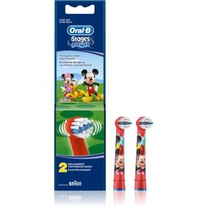 Oral B Stages Power EB10 Mickey Mouse csere fejek a fogkeféhez extra soft