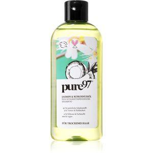 Pure 97 Jasmin & Kokosnussöl hidratáló sampon száraz hajra 250 ml