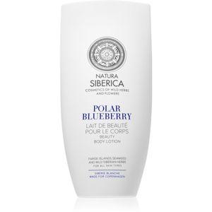 Natura Siberica Sibérie Blanche Polar Blueberry testápoló tej