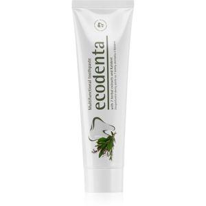 Ecodenta Green Multifunctional fluoridos fogkrém a fogak teljes védelméért
