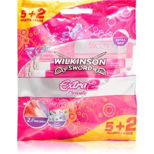 Wilkinson Sword Extra 2 Beauty eldobható borotva hölgyeknek 7 db