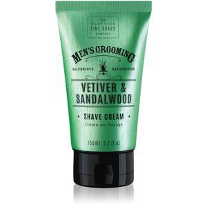 Scottish Fine Soaps Men's Grooming Vetiver & Sandalwood borotválkozási krém uraknak