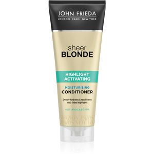 John Frieda Sheer Blonde Highlight Activating hidratáló kondicionáló szőke hajra