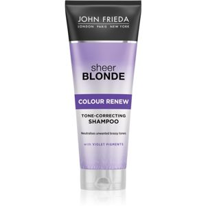 John Frieda Sheer Blonde Colour Renew tonizáló sampon szőke hajra