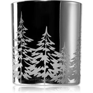 Yankee Candle Snowy Gatherings üveg gyertyatartó fogadalmi gyertya alá