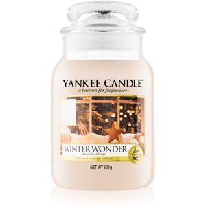 Yankee Candle Winter Wonder illatos gyertya Classic nagy méret 623 g