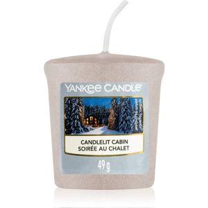 Yankee Candle Candlelit Cabin viaszos gyertya 49 g