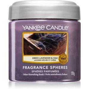 Yankee Candle Dried Lavender & Oak illatos gyöngyök 170 g