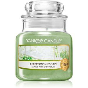 Yankee Candle Afternoon Escape illatos gyertya Classic kis méret 104 g