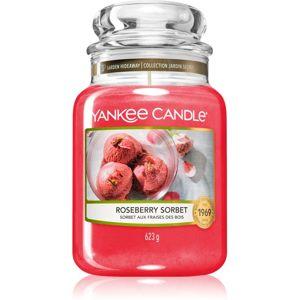Yankee Candle Roseberry Sorbet illatos gyertya Classic nagy méret 623 g