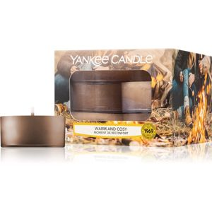 Yankee Candle Warm & Cosy teamécses 12 db