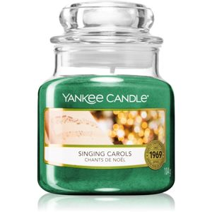 Yankee Candle Singing Carols illatos gyertya 104 g