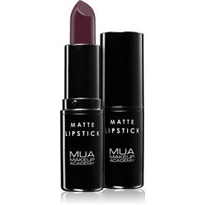 MUA Makeup Academy Matte mattító rúzs árnyalat Survivor 3,2 g