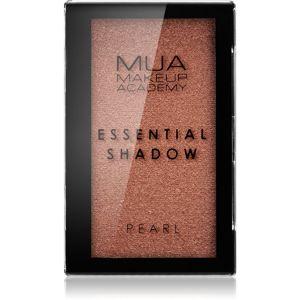 MUA Makeup Academy Essential gyöngyházas szemhéjfestékek árnyalat Gingerbread 2,4 g