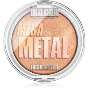 Makeup Obsession Mega Destiny highlighter árnyalat Metal