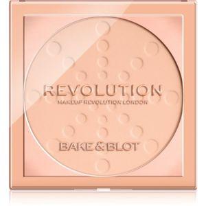 Makeup Revolution Bake & Blot hosszan tartó fixáló púder