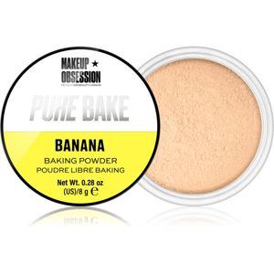 Makeup Obsession Pure Bake mattító lágy púder
