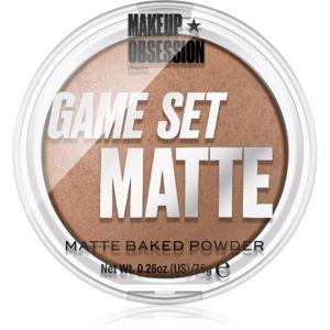 Makeup Obsession Game Set Matte mattító púder