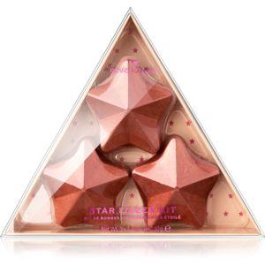 I Heart Revolution Fizzer Kit Star színes fürdőpezsgőtabletták 120 g