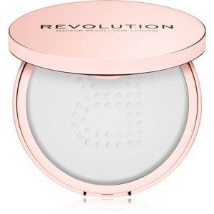 Makeup Revolution Conceal & Fix átlátszó könnyed púder vízálló árnyalat Translucent 13 g