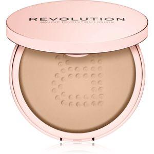 Makeup Revolution Conceal & Fix átlátszó könnyed púder vízálló árnyalat Medium Pink 13 g