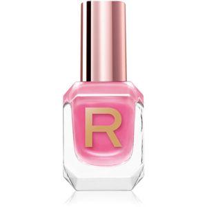 Makeup Revolution High Gloss jól fedő körömlakk magasfényű árnyalat Candy 10 ml