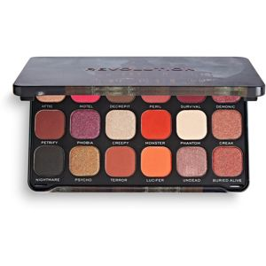 Makeup Revolution Halloween Eyeshadow Palette szemhéjfesték paletta árnyalat Haunted House 19,8 g