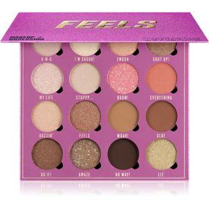 Makeup Obsession Feels szemhéjfesték paletta 10 x 1,30 g