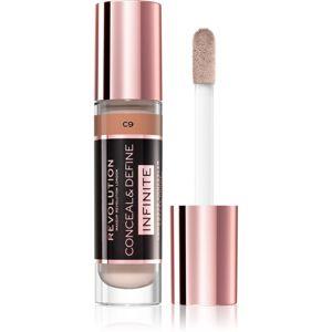 Makeup Revolution Infinite fedő korrektor a bőr tökéletlenségei ellen nagy csomagolás árnyalat C9 9 ml