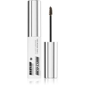 Makeup Obsession Fluffy Brow fixáló gél szemöldökre árnyalat Dark Brown 6 ml