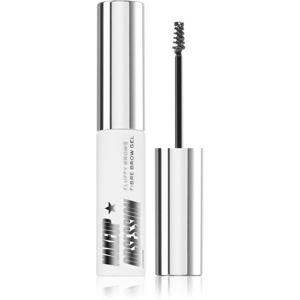 Makeup Obsession Fluffy Brow fixáló gél szemöldökre árnyalat Clear 6 ml