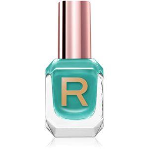 Makeup Revolution High Gloss jól fedő körömlakk magasfényű árnyalat Jade 10 ml