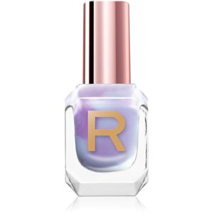 Makeup Revolution High Gloss jól fedő körömlakk magasfényű árnyalat Grape 10 ml