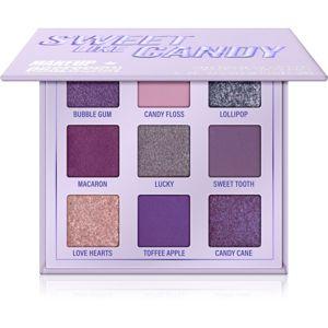 Makeup Obsession Mini Palette szemhéjfesték paletta árnyalat Sweet Like Candy 11,7 g