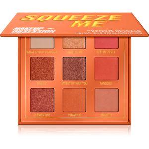 Makeup Obsession Mini Palette szemhéjfesték paletta árnyalat Squeeze Me 11,7 g