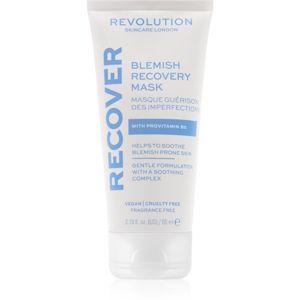 Revolution Skincare Blemish Recover bőrmegújító éjszakai maszk problémás és pattanásos bőrre 65 ml