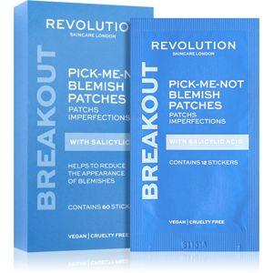 Revolution Skincare Pick-Me-Not tisztító tapasz pattanások ellen 60 db